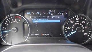Як включити підніжки Вкл/Викл на 2016 Форд Ф-150 у місті о-Клер Форд Лінкольн швидка провулок