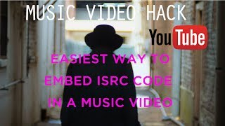 Wait What!  How to embed an ISRC code to Music Video for Youtube - Post Production Tools