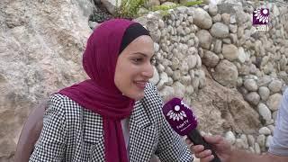 لقاء الطالبة حلا منتصر نعيم محمود 99 الفرع الادبي