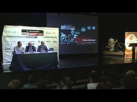Presentació de la Copa del Món de BTT 2018 a Vallnord