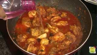 Konkani Chicken a Maharashtrian Kombdi - By VahChef @ VahRehVah.com
