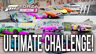 Forza Horizon 3: THE ULTIMATE CHALLENGE!!! (Subscriber Showcase)