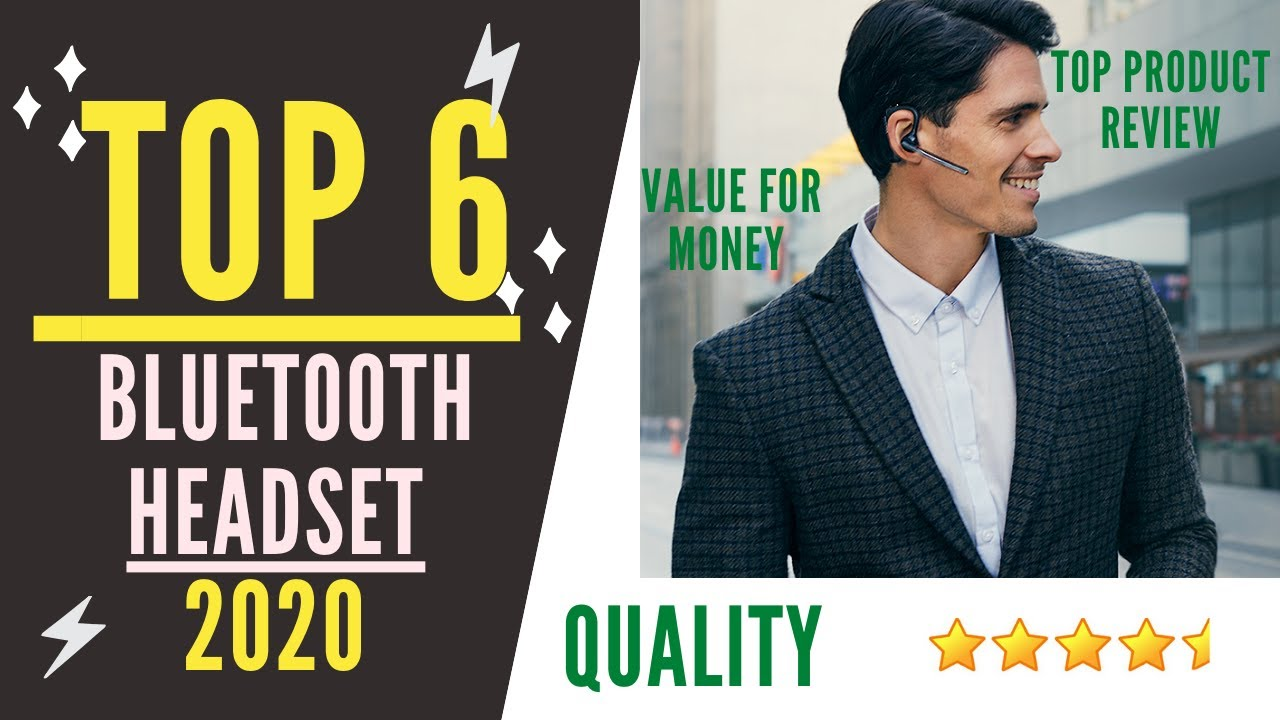 Best Bluetooth Headset 2021 Top 6 Best Bluetooth Headset for 2021 and 2020 (buying guide