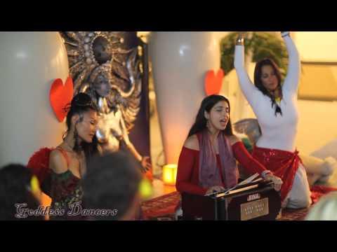 Goddess Dancers, featuring Paloma Devi, Luchi Estevez, and Lisa Lumiere