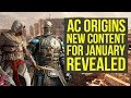 Assassin's Creed Origins DLC Level Cap Upgrade, New Quest, Weapons & Way More AC Origins DLC Coming