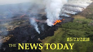 Ocean, Jungle Explosions New Risks From Hawaii Eruption | News Today | 05/23/2018 | Donald Trump
