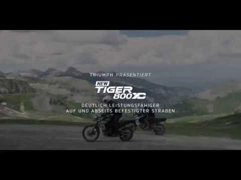 Die brandneue Triumph Tiger 800 XC