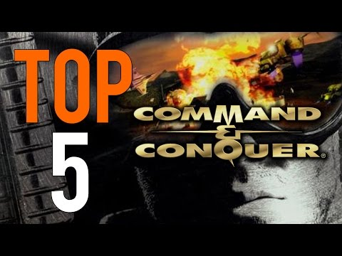 Top 5 Command & Conquer Games - 20th Anniversary Special!