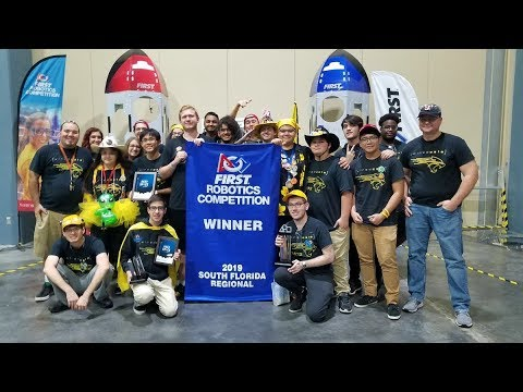 FRC 2019 South Florida Regional Recap (Team 5872)