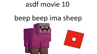 BEEP BEEP IMA SHEEP in ROBLOX