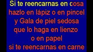 Salvador Dali - Mecano - karaoke Tony Ginzo