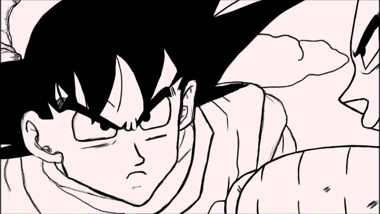 Affrontement Son Goku Contre Vegeta Son Gokuh Vs Bejita Dragon