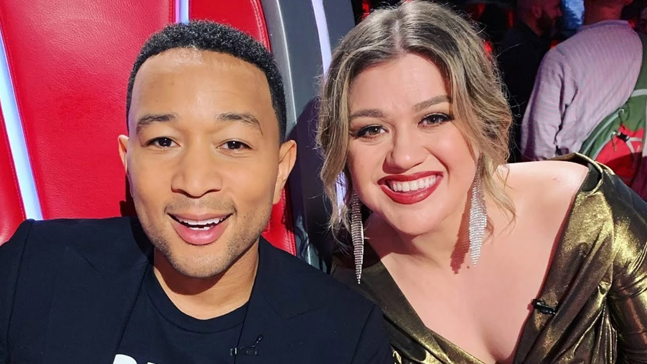 John Legend & Kelly Clarkson Receive Backlash for Updated 'Baby It's Cold Outside' Lyrics - YouTube
