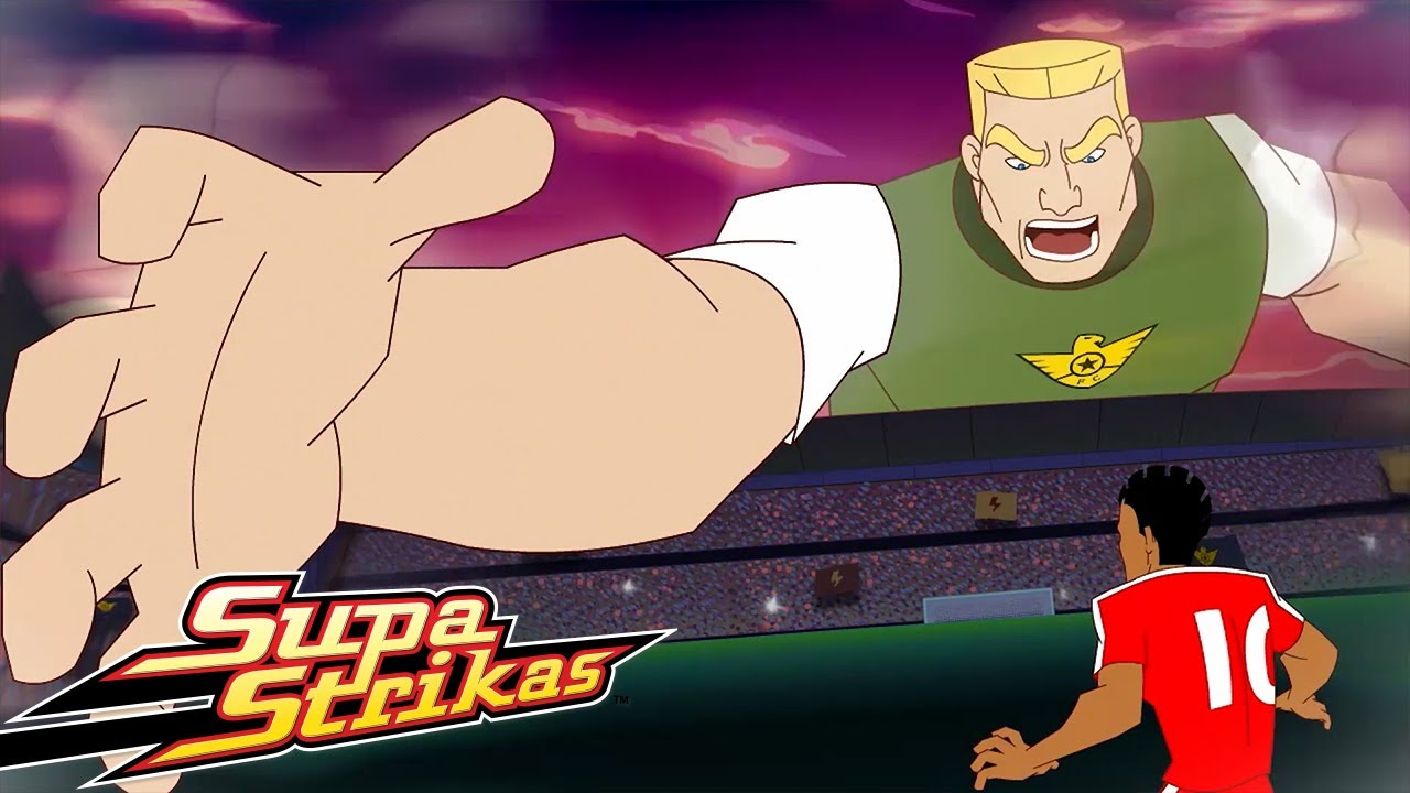 Supa Strikas Vs Iron Tank ⚽   Ausgeträumt   Fußball - Cartoons für Kinder   Anime