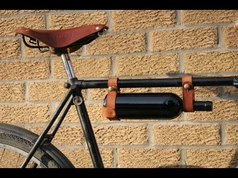 The Bicycle Wine Rack By Oopsmark Youtube