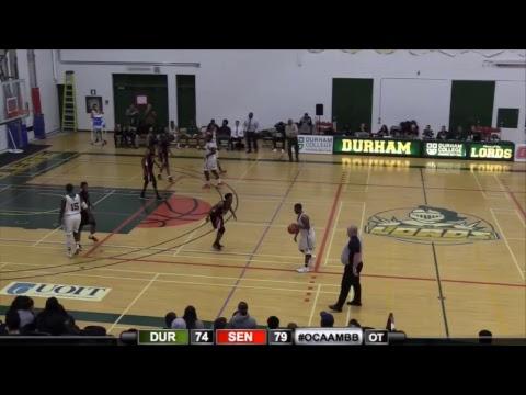 Men's Basketball - Durham vs. Seneca Sting - Nov. 29, 2017