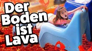 DER BODEN IST LAVA - IKEA Shopping 🔥 The floor is lava Challenge 🔥 Geschichten und Spielzeug