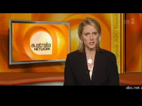 ABC News for Australia Network (May 2008) - YouTube