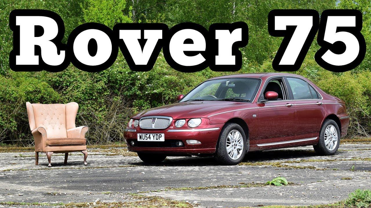2003 rover 75 regular car reviews youtube. Black Bedroom Furniture Sets. Home Design Ideas