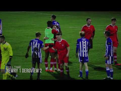 Newry City Dergview Goals And Highlights