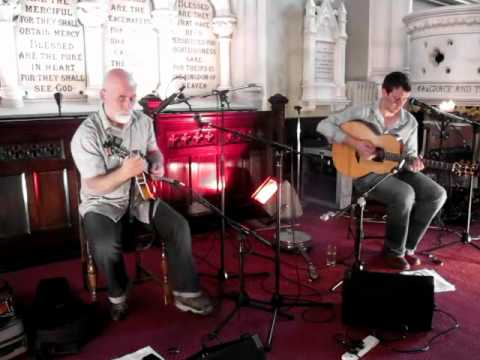 10th July 2012 Paul Kelly & James Ryan at the Steeple Sessions