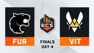 FURIA vs Vitality - Map 2 - Overpass (ECS Season 7 Finals - DAY4)