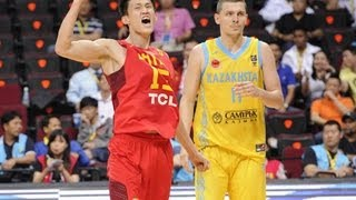 #FIBAAsia - Day 4: Kazakhstan v China (highlights)