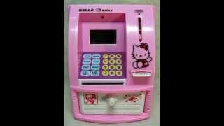 087837466333 Jual Celengan atm mini hello kitty Harga 175rbu