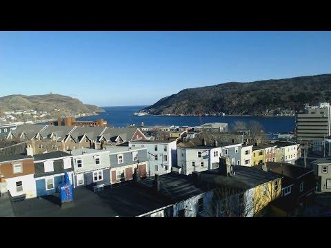 The Narrows St. John's Newfoundland - Aug 12, 2016