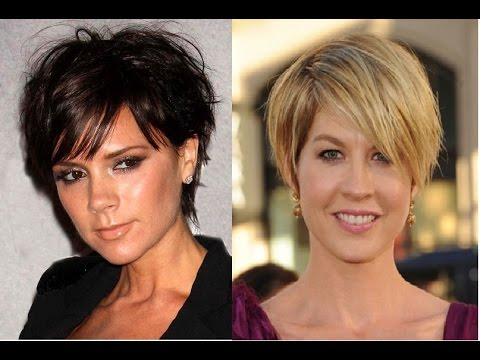 Short Hairstyles For Older Women With Fine Hair Youtube