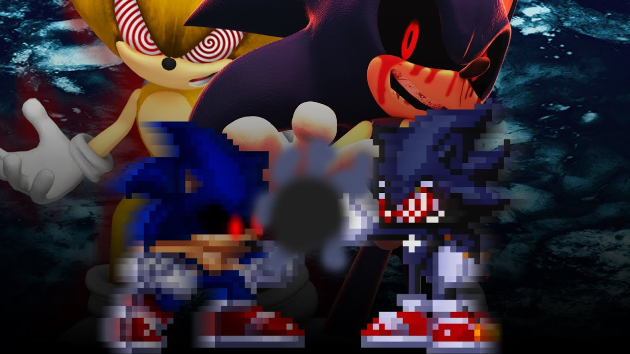Sonic exe vs Fleetway Sonic