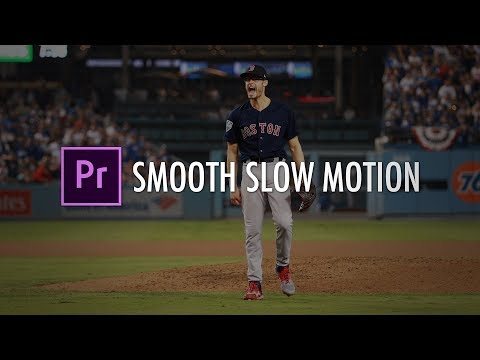 Premiere Pro: How To Get SMOOTH SLOW MOTION