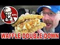 """KFC 🍗🥞 WAFFLE DOUBLE DOWN """"BEST ITEM on the MENU EVER?"""""""
