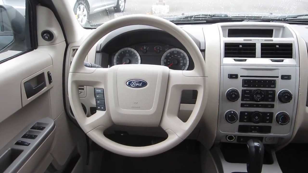 2008 Ford Escape Interior Brokeasshome Com