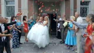 Подарок  мужу на свадьбе 29.08.2015, Невеста поёт песню.( муз.и слова М. Орской Любимый муж мой)