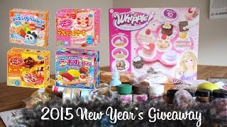 (CLOSED) 2015 New Year's Giveaway!