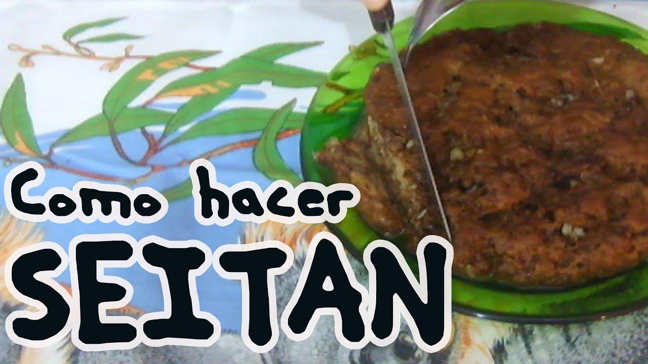 Como Cocinar El Seitan | Como Hacer Seitan Carne Vegetal Youtube