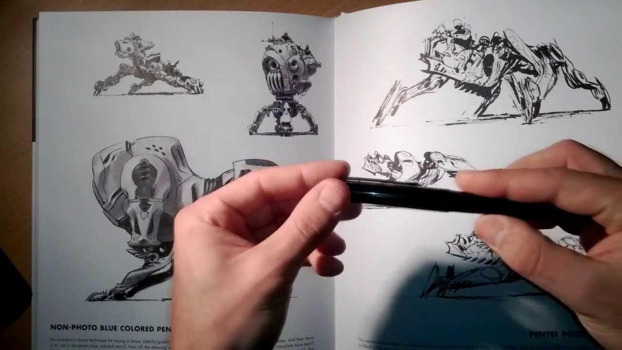 """How to draw"" by Scott Robertson & Thomas Bertling"