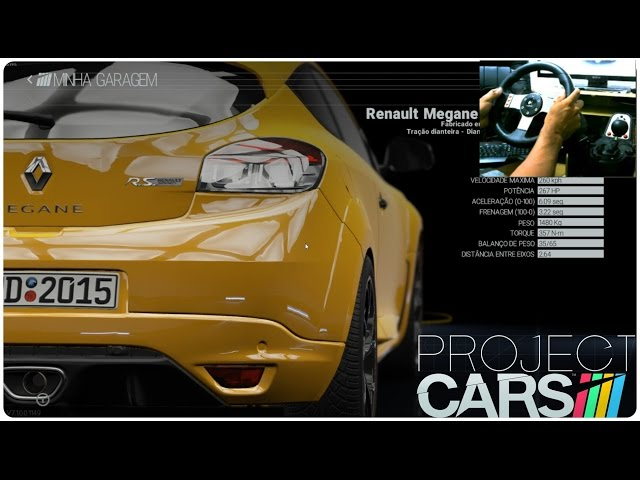 Project Cars / G27 + Renault Mégane R.s.265 - 1080p