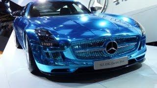 SLS AMG electric drive première mondiale