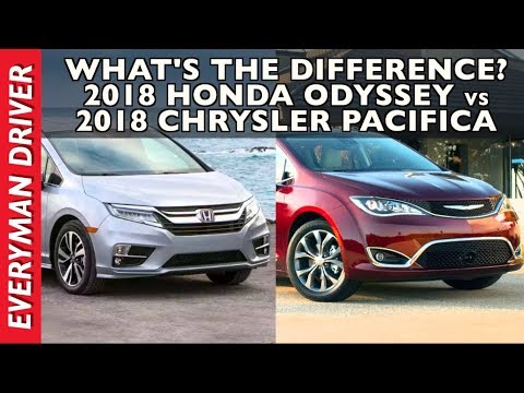 What S The Difference 2018 Honda Odyssey Vs Chrysler Pacifica On Everyman Driver