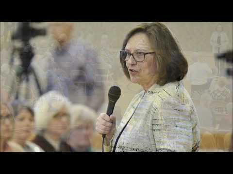 Sen. Deb Fischer (R) questioned at Nebraska Town Hall on her vote  to allow mentally ill to buy guns