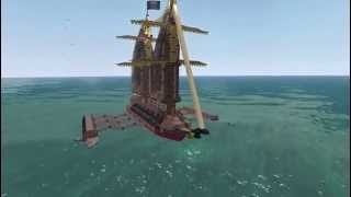 100K Pirate Ship Battle Royal  [part 2] Rumboat vs Runabout