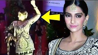 Sonam Kapoor Hot Dance Performance At Saudamini Mattu Wedding