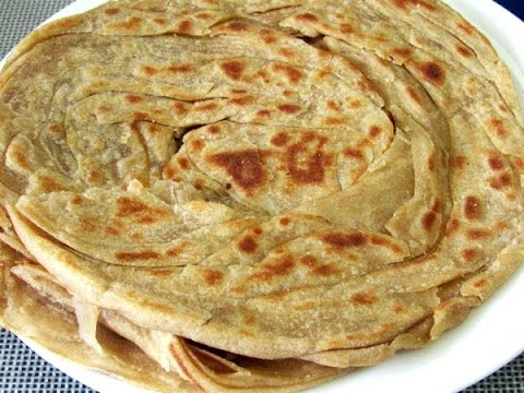 Kerala Parotta Recipe - How To Make Malabar Wheat Parotta/Porotta | Nisa Homey