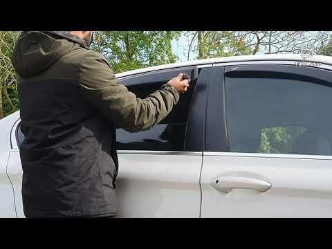 Fitting #Wind #Deflectors On #BMW 5series #F10