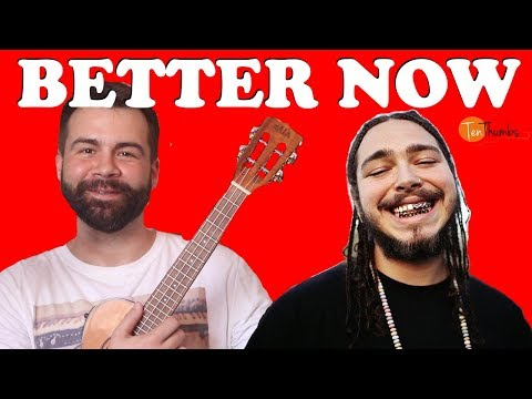 Download Better Now Post Malone Easy Ukulele Tutorial Chords