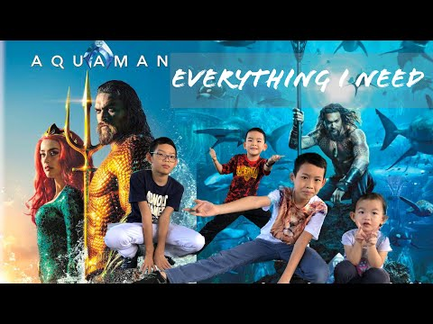 Skylar Grey - Everything I Need Soundtrack from Aquaman Cover by Ellkids Channel
