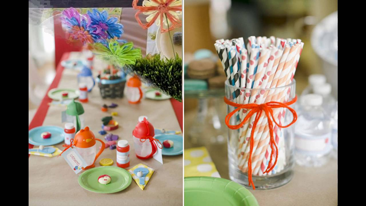 Kids birthday party themed decorating ideas & Kids birthday party themed decorating ideas - YouTube