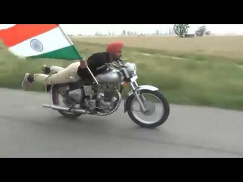 Chubby January Ka Jhanda Lehrata Hua Desh Ki Shaan Jai Hind Jai Bharat